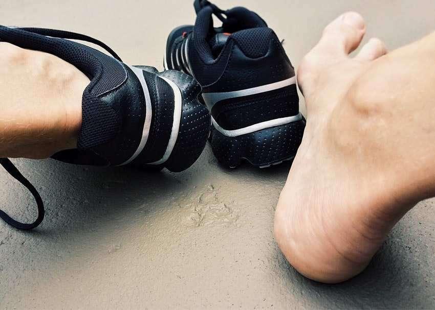 Kutane Mykosen: Fußpilz